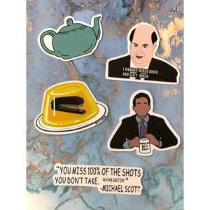 5 The Office Stickers 📎